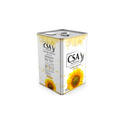 CSA Sunflower Oil 5lt - 10lt - 18 lt